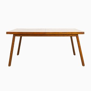 Mid-Century Walnut Dining Table by T.H. Robsjohn-Gibbings for Widdicomb