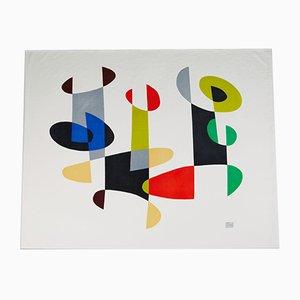 Dipinto Trio di Pierre Olofsson, Svezia, anni '60