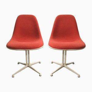 La Fonda Chairs by Charles & Ray Eames for Vitra, 1970s, Set of 2