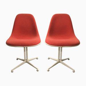 Sillas La Fonda de Charles & Ray Eames para Vitra, años 70. Juego de 2