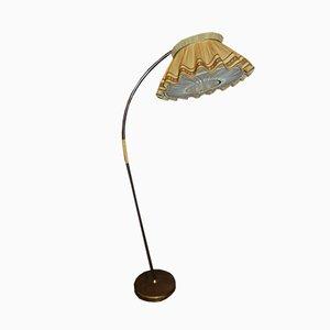 Lámpara de pie industrial vintage, años 50