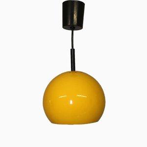 Lámpara colgante vintage esférica de Brillant Leuchten, años 60