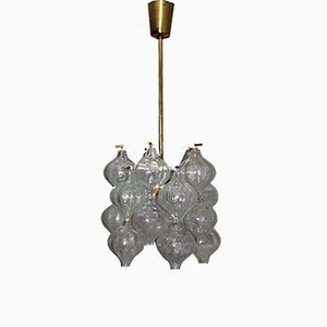 Vintage Tulipan Chandelier by J.T. Kalmar for Kalmar, 1960s