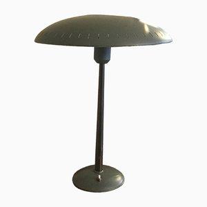 Lampada da scrivania vintage smaltata di Louis Kalff per Phillips, anni '50