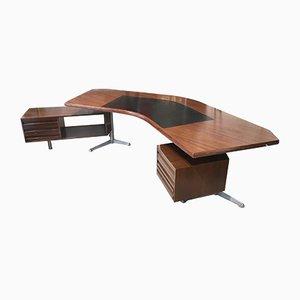 Boomrang Schreibtisch von Osvaldo Borsani für Tecno Milano, 1960er