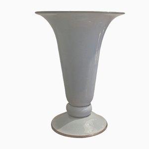 Vaso in ceramica blu di Rosenthal, anni '50