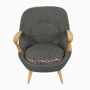 Vintage Lounge Chair by Janina Jędrachowicz & Krzysztof Racinowski for Poznańska Fabryka Mebli, 1956