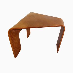 Bentwood Sidetable from Ekornes, 1970s