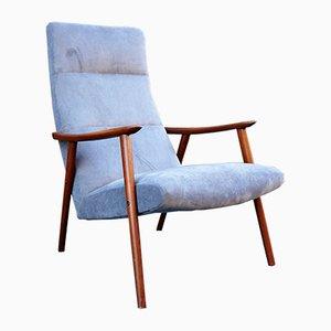 Skandinavischer Vintage Sessel aus Teak
