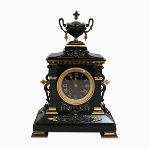 Antique French Neoclassical Mantel Clock by Japy Freres