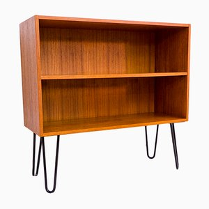 Teak Shelf on Hairpin Legs from Deutsche Werkstätten, 1960s