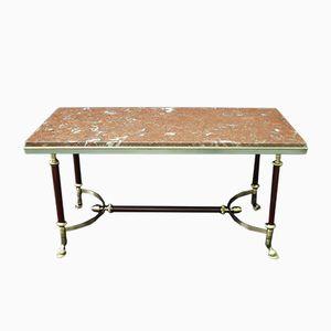 Tavolino da caffè Mid-Century di Maison Jansen, Francia