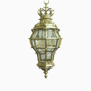French Bronze Gilt Versailles Lantern, 1890s