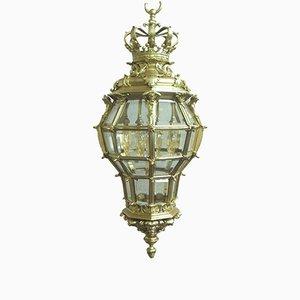 Lanterne Versailles en Bronze Doré, France, 1890s