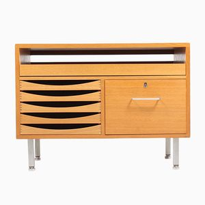 Oak Commode by Hans J. Wegner for Johannes Hansen, 1950s