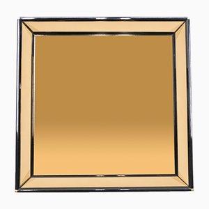 Italian Lacquered Mirror by Sandro Petti, 1970s