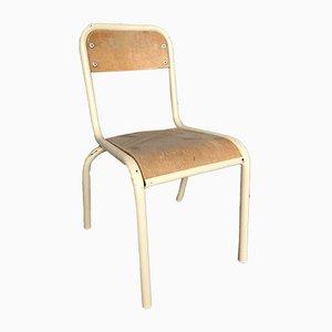 Chaise d'Écoliers Vintage, Set de 6