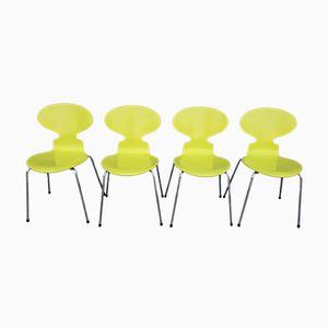 Chaises Ant par Arne Jacobsen pour Fritz Hansen, 1991, Set de 4
