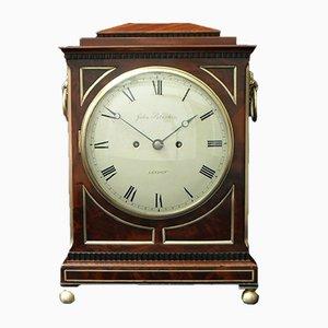 Orologio Guglielmo IV in mogano di John Peterkin, anni '30