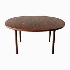 Rosewood Dining Table by Ole Gjerlov-Knudsen & Torben Lind, 1960s