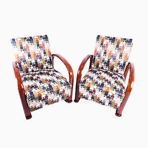 Art Deco Armchairs from Gebrüder Thonet Vienna GmbH, 1930s, Set of 2