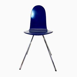 Chaise Tongue Vintage par Arne Jacobsen pour Fritz Hansen