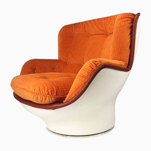 Vintage Fiberglass Lounge Chair by Michel Cadestin for Airborne