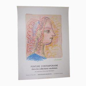 Swiss Picasso Peinture Contemporaine Poster, 1971
