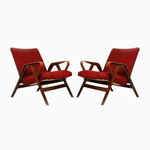 Mid-Century Armchairs from Tatra, 1960s, Set of 2