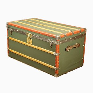 Antique Green Trunk by Louis Vuitton