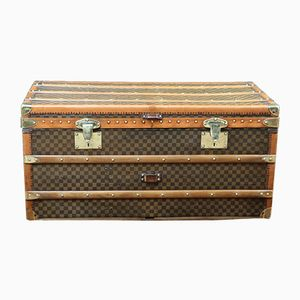Vintage French Steamer Trunk by Moynat