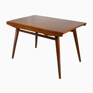 Extendable Walnut Dining Table from Tatra, 1960s