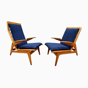 Mid-Century Modern Lounge Chairs from De Ster Gelderland, Set of 2