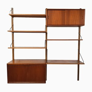 Royal System Teak Wall Unit by Poul Cadovius, 1960s
