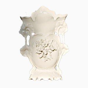 Vintage Art Nouveau Porcelain Vase, 1930s