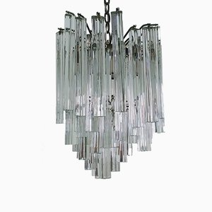 Murano Glass Chandelier by Paolo Venini, 1970s