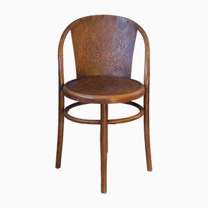 Stuhl aus Bugholz von Mundus, 1900er