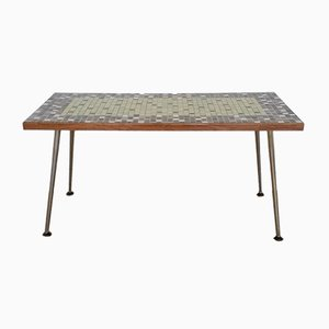 Mid-Century Mosaic Top Coffee Table, 1950s