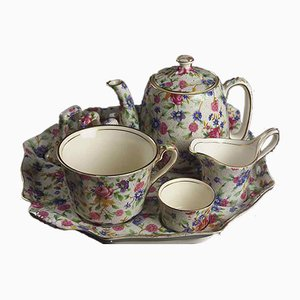 Tea Service Set from Royal Winton, 1960s