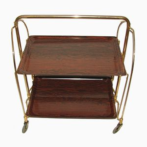Vintage Serving Bar Cart, 1970s