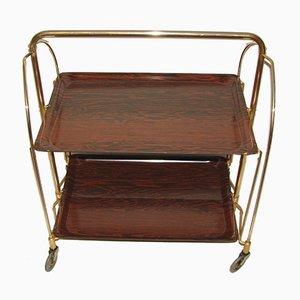 Vintage Serving Bar Cart, 1970s