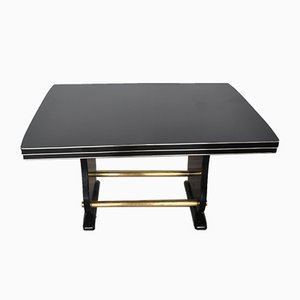 Art Deco Lacquered Living Room Table