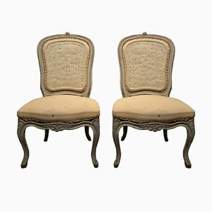 19th-Century Rococo Chairs, 1850s, Set of 2