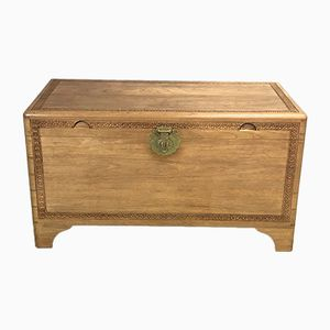 Vintage British Camphor Chest