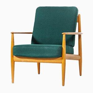 Vintage Armchair by Grete Jalk for Poul Jeppesens Møbelfabrik