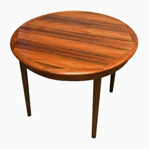 Table Mid-Century Scandinave Ovale, 1965