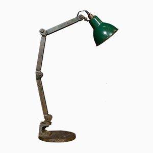 Lámpara de escritorio industrial, años 50