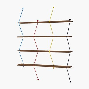 Climb Shelves by Bashko Trybek for La Chance