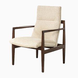 Freistehender Mid-Century Sessel von Jens Risom für Risom Marble Corporation, 1960er