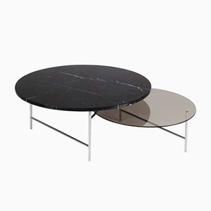 Table Basse Zorro en Marbre par Note Design Studio pour La Chance
